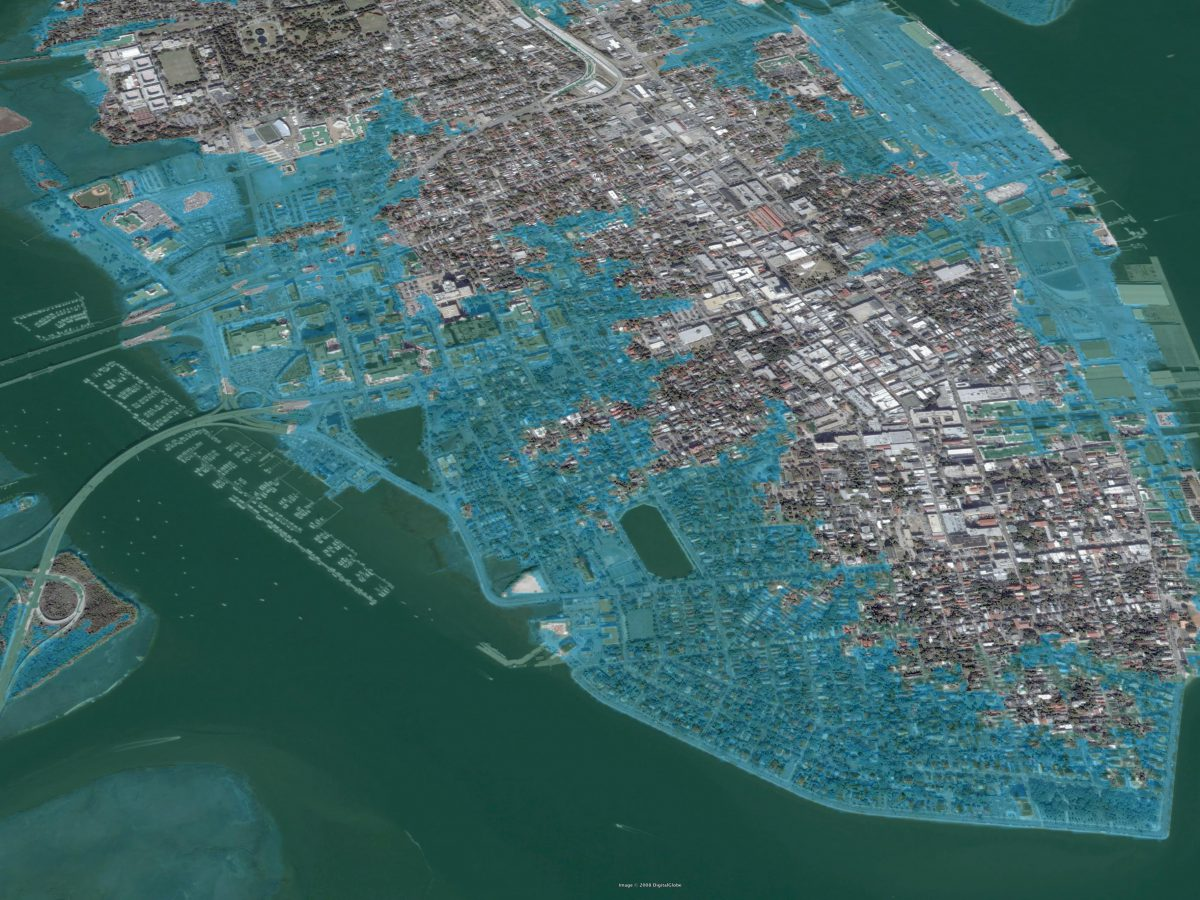 miami sea level rise map Inundation Mapping 2030 Palette miami sea level rise map