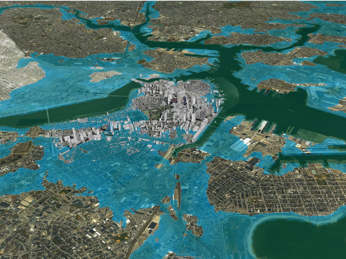 Inundation Mapping Palette - Water rising map