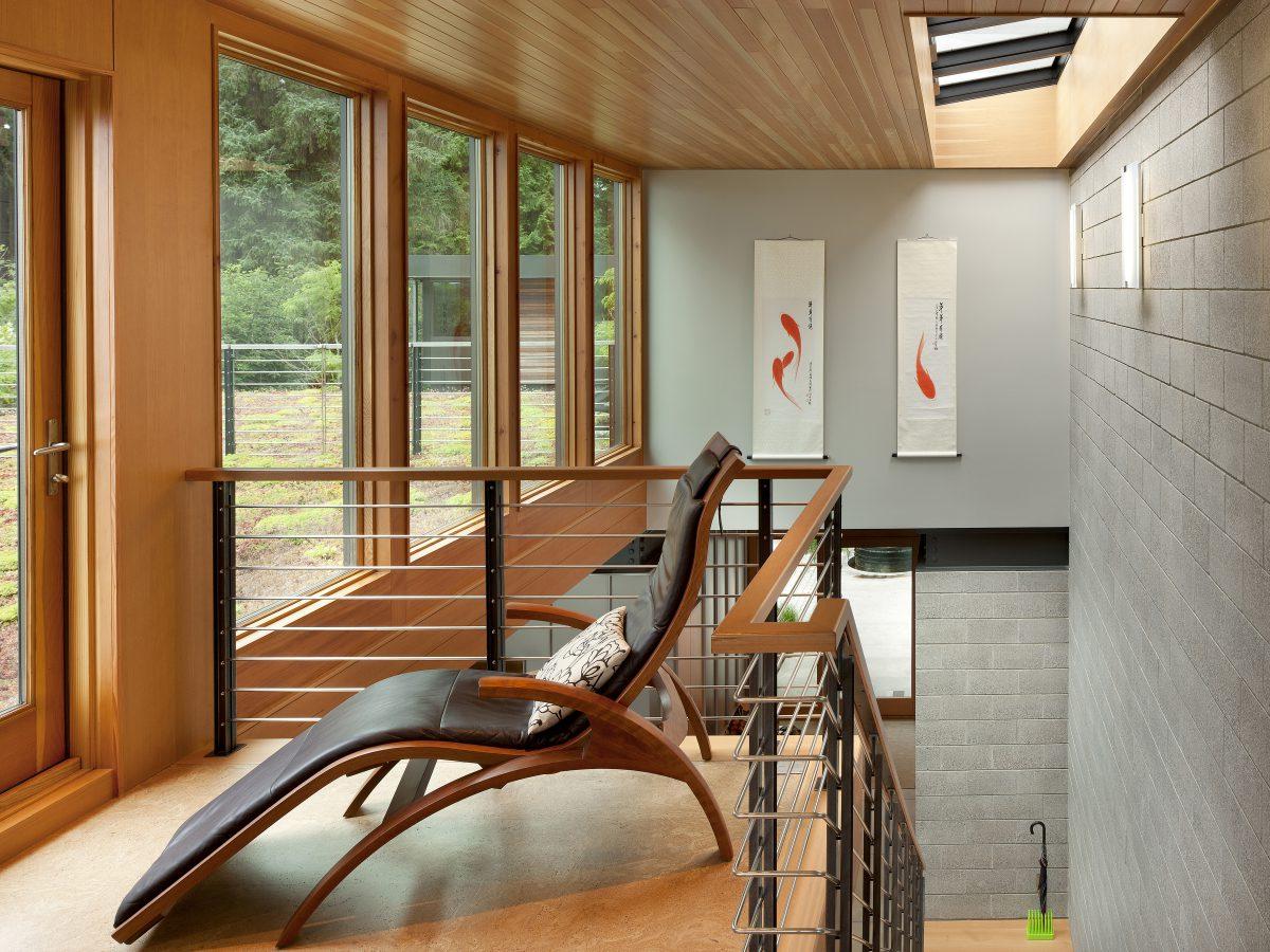 Direct Gain: Heat Storage. Ellis Residence Coates Design Architects Bainbridge  Island ...